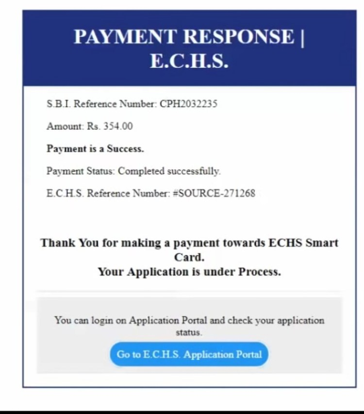 ECHS Application download