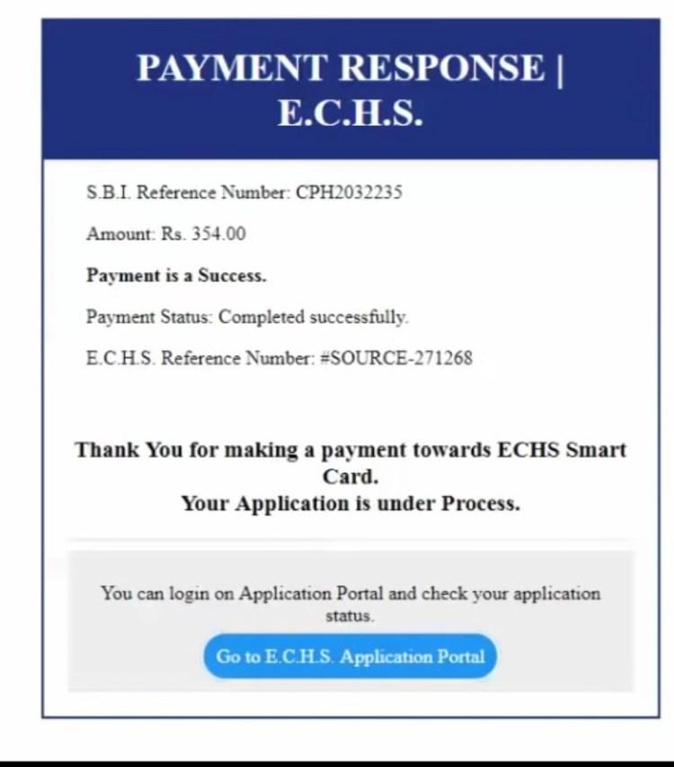 ECHS Application download