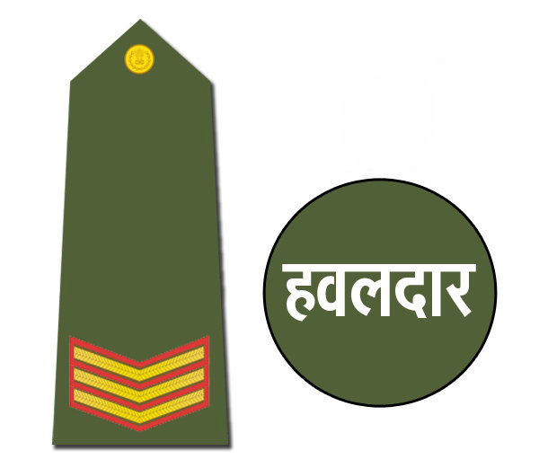 Indian Army Rank Havildar