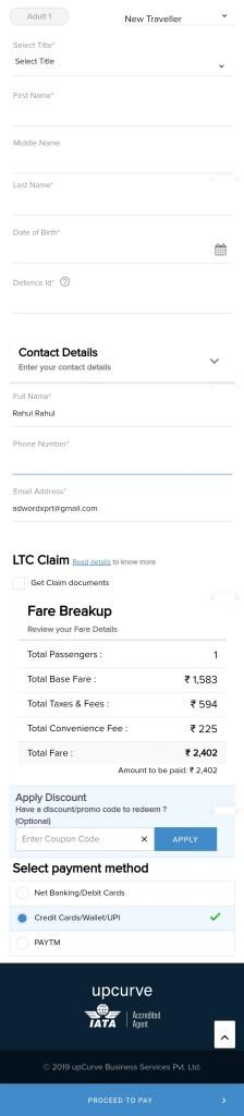 Udchalo flight booking