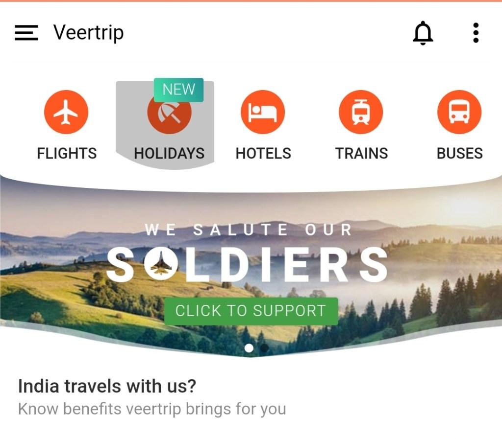 Veer trip app