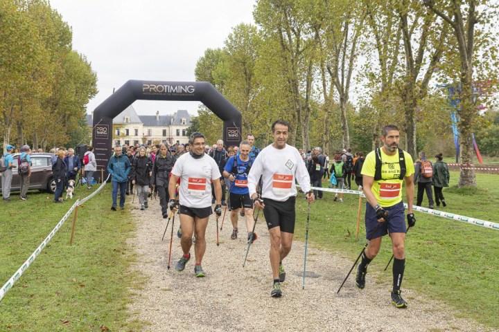 Le matin du 19/10/2019 Départ de la Foulée des Vignerons