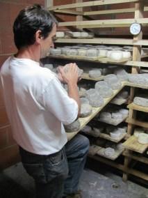 Fabrication du Fromage de Fouliouze