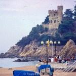 A castle near the coast