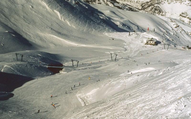 A sky slope