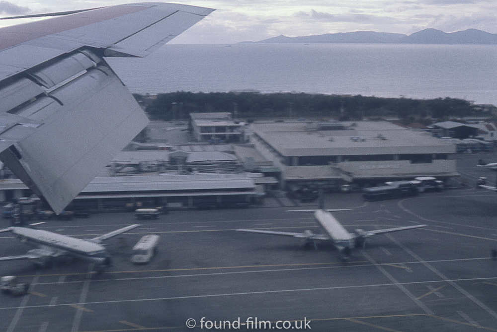 A view out of the aircraft