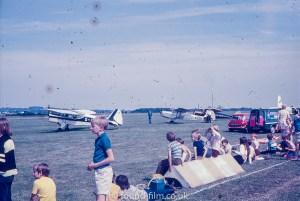 An airshow