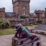 Cannon at Culzean Castle