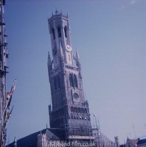 Church tower in Belgium
