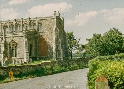 East end of Blythburgh church