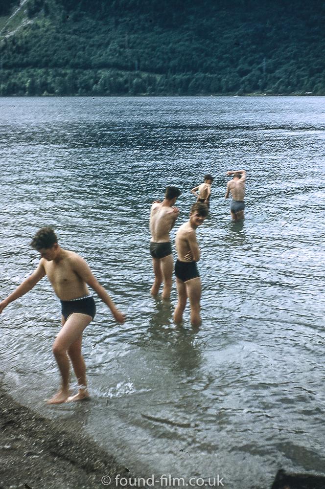 Last swim at Urfeld