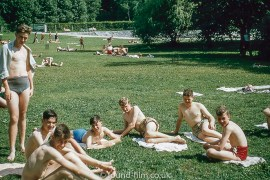 Sunbathing at Garmisch