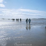 Walking the sandflats