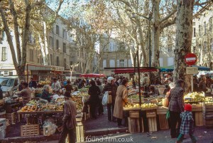 A market in Provence