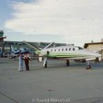 Aircraft N21LF lear jet