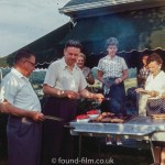 Barbecue with friends 1960 style