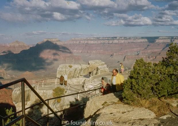 Grand canyon viewing platform