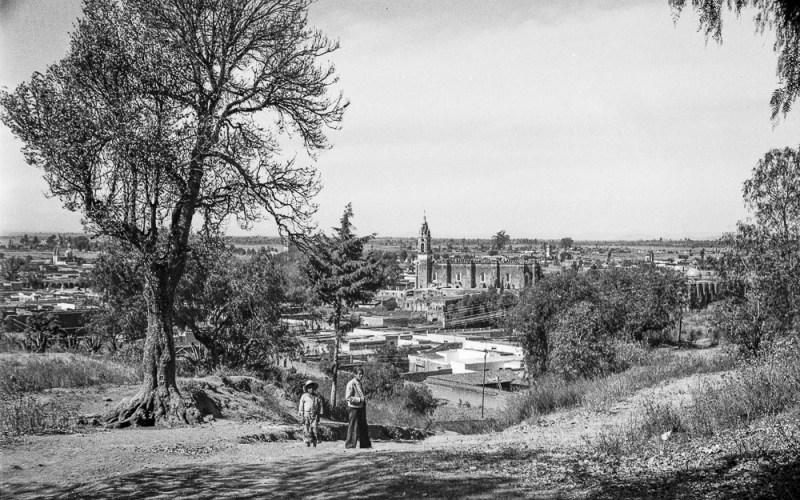 Portrait and City