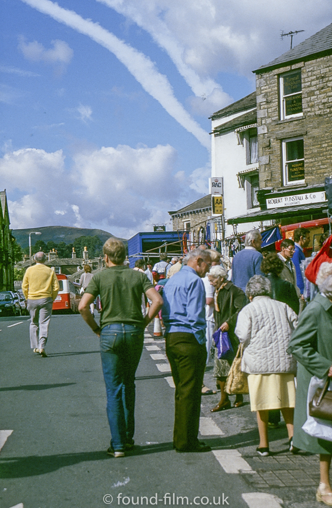 The town of Hawes