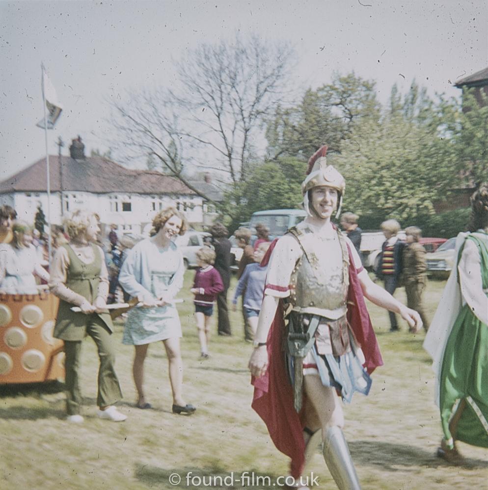 A Village Fete with a Roman Theme