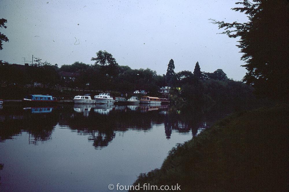 Boats at Evesham