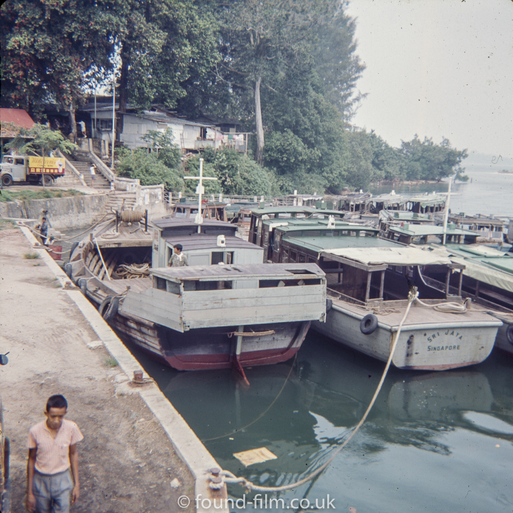 Boats in Singapore