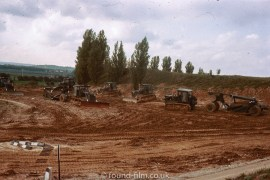 Diggers and machinery