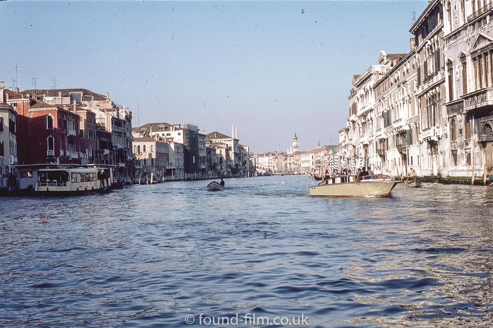 Grand Canal in Venice in 1985
