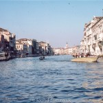 The Grand Canal in Venice in 1985