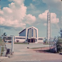 Church of St Francis Xavier in Singapore in the early 1960s