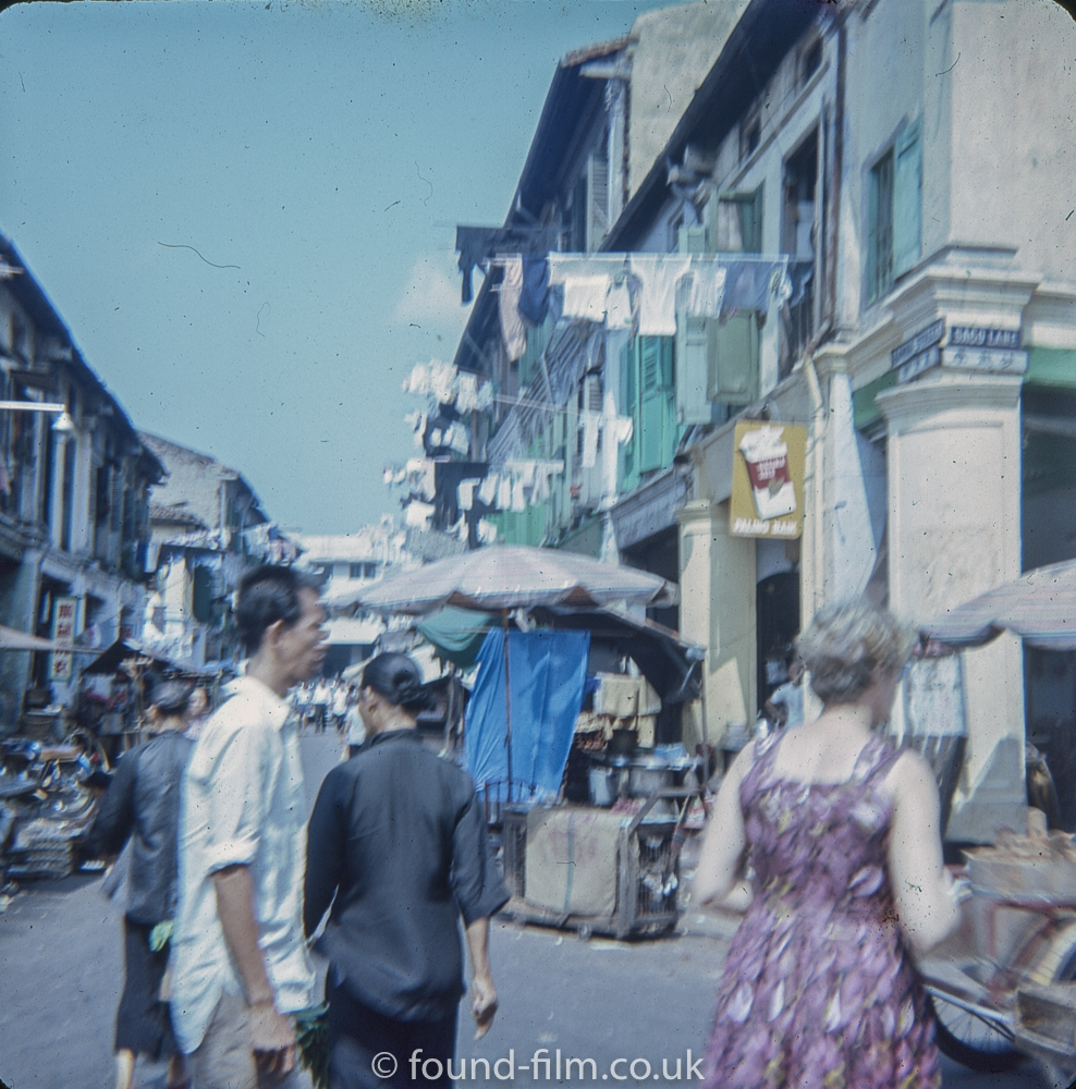 Sago lane in Singapore in the early 1960s