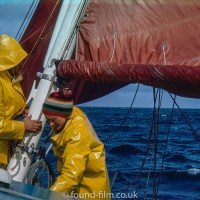 Sailors at sea