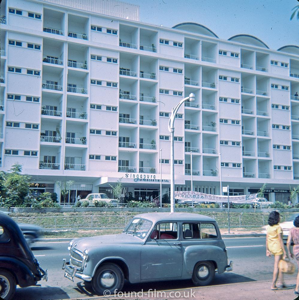 Singapura Intercontinental hotel in Singapore in the 1960s