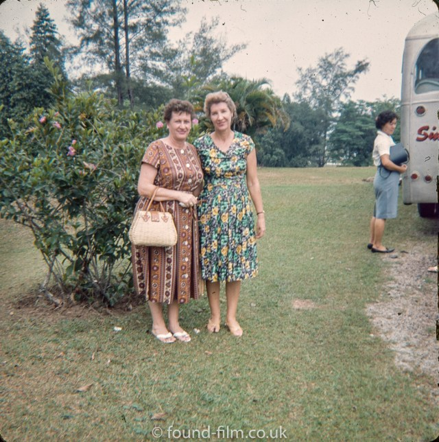 Two ladies in Singapore
