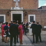Wedding Party at St Joan of Arc church, Farnham in 1966