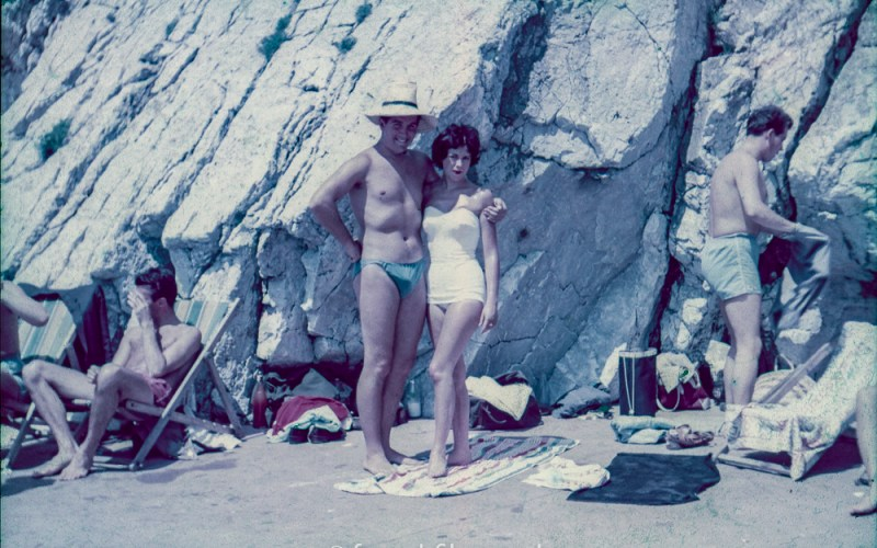 Couple at the seaside
