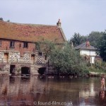 Harnham Water Mill in Salisbury, August 1972