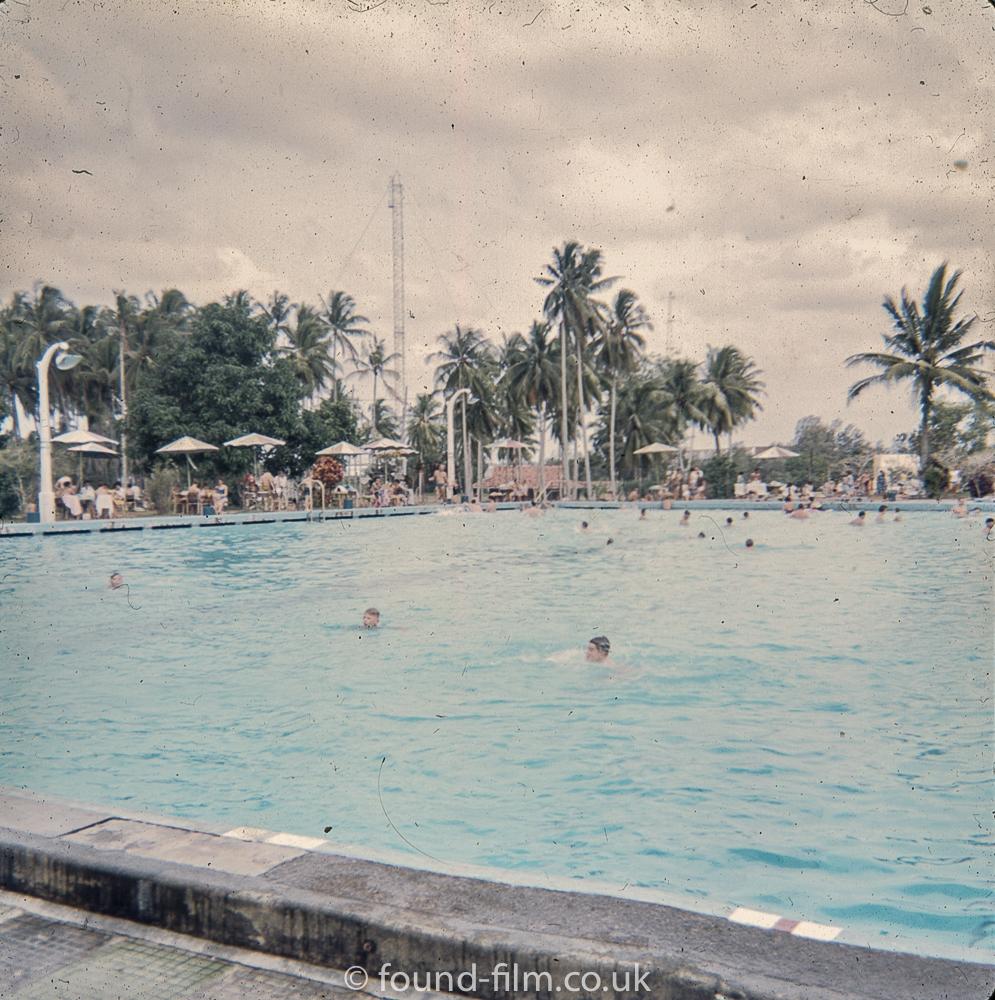 RAF Seletar swimming pool