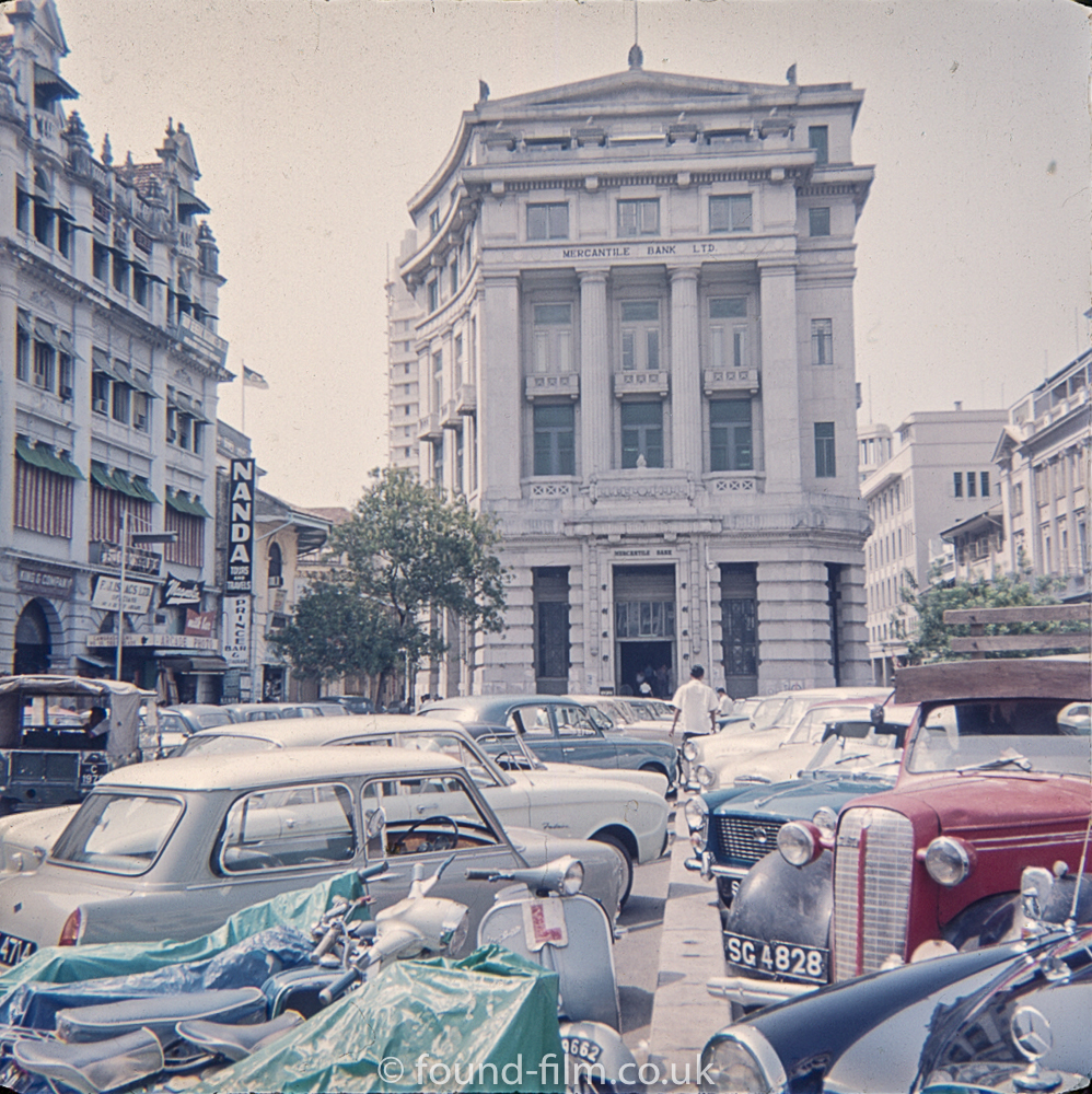 Raffles Place, Singapore - a view from the 1960s