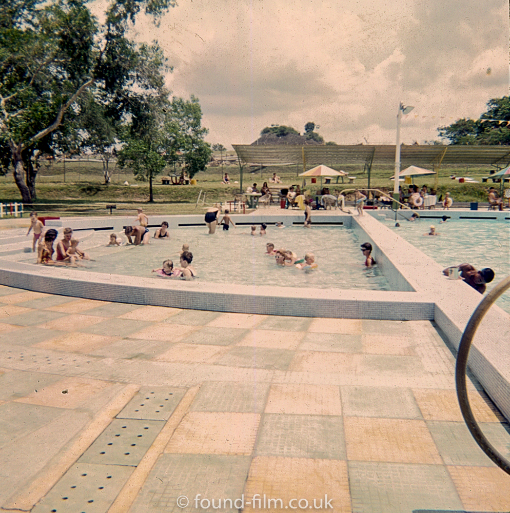 Children's pool at RAF Seletar in the early 1960s