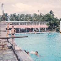The Swimming Pool at RAF Seletar in the early 1960s