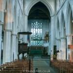 Thaxted church interior