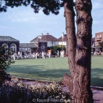 Playing Bowls at Worthing Marine Gardens – August 1972