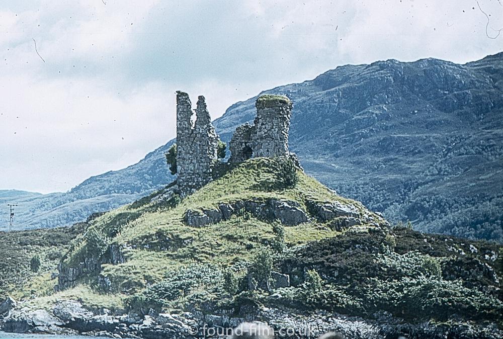 Ruins on hilltop