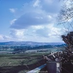 View over Exmoor from March 1970