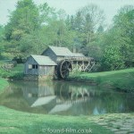 A Wooden construction Water Mill, July 1977