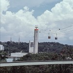 Cable car tower – Jan 1986