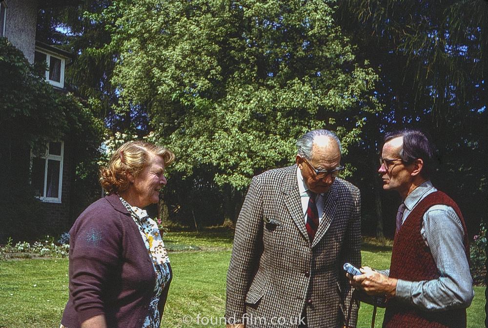 Charles and his camera, July 1972