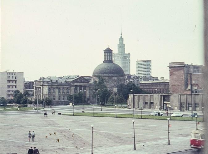 Deserted square