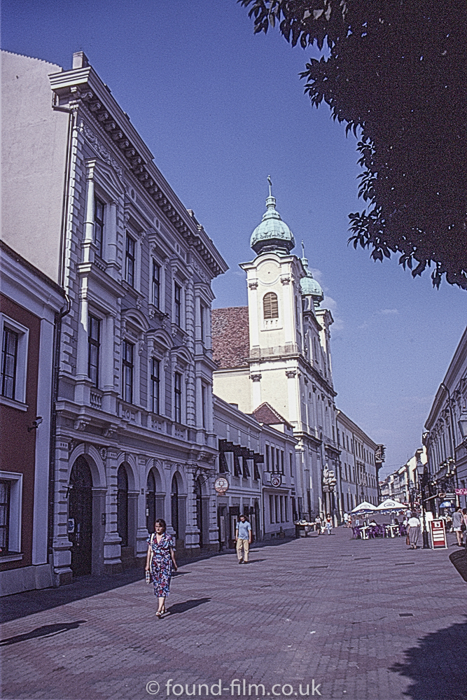 Pecs, Hungary - September 1993